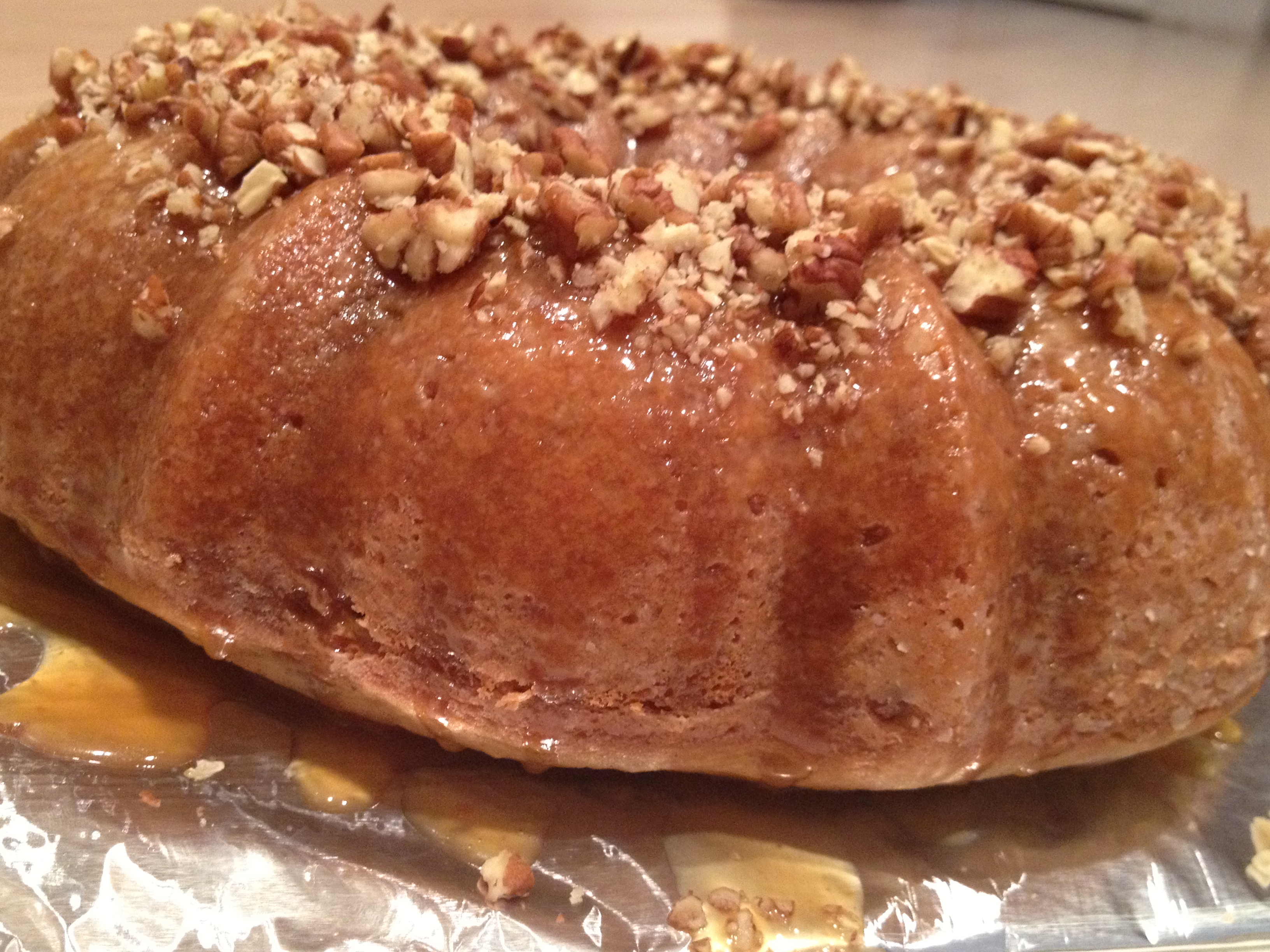 Pecan-Bourbon Bundt Cake Recipe — Dishmaps